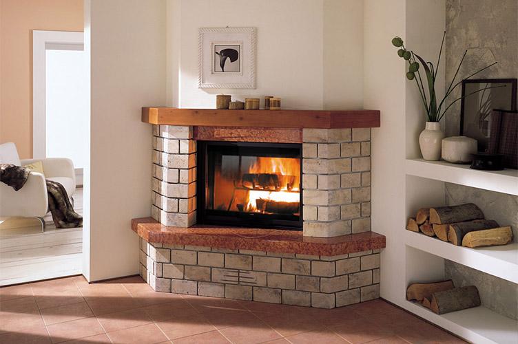 ceramic fireplace glass