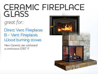 Ceramic Fireplace